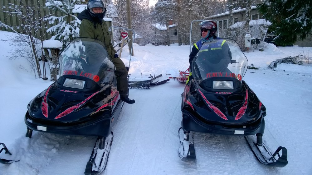 Kuukauden ulkoiluteko: Turun Latu odotti sitkeästi lunta ja kun sitä tuli, tehtiin ladut