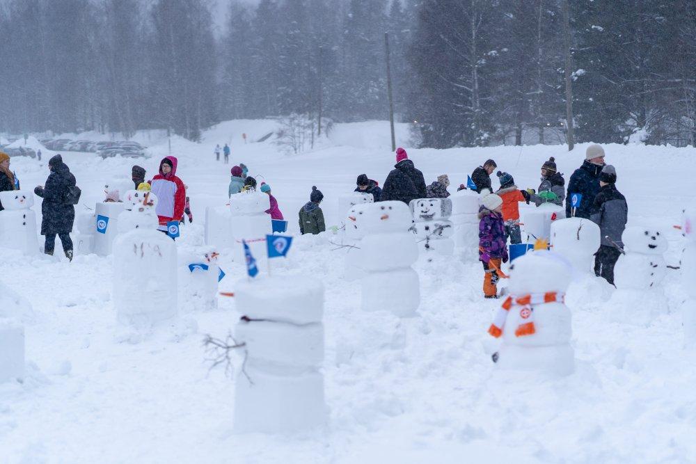 Lumiukot ja Änkkärit tulevat taas!