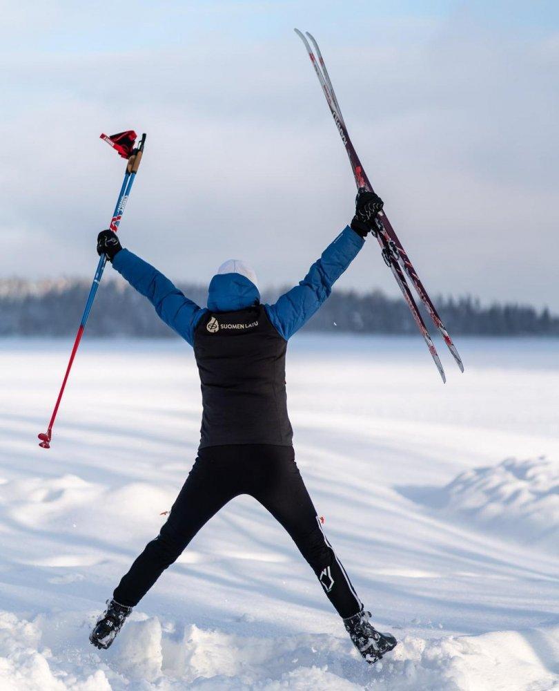 Suomen Latu harjoitteli hiihtoa kymmenellä paikkakunnalla