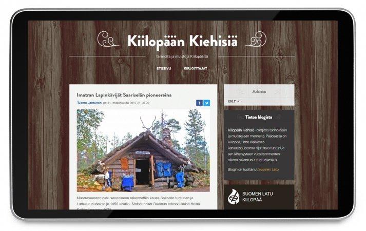 Joko olet löytänyt Kiilopään Kiehisiä -blogin?
