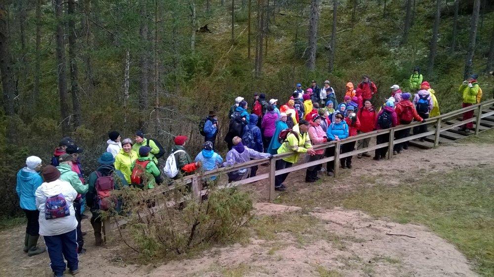 Oulangan kansallispuisto tutuksi