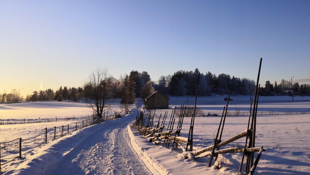 Ihana talvi Lounais-Suomessa