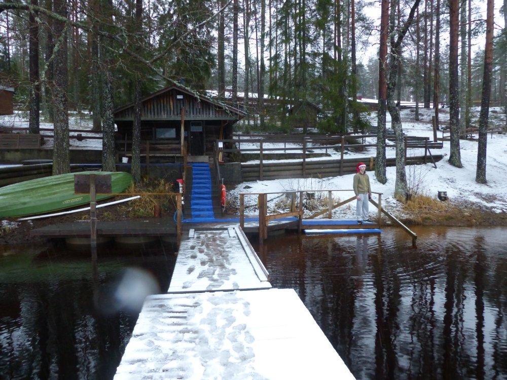 Kuukauden ulkoiluteko: Nurmijärven uusi talviuintipaikka löytyi päättäväisellä etsimisellä