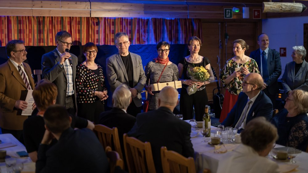 Suomen Ladun kevätpäivillä ja 80-vuotisjuhlassa Kiilopäällä palkittiin ansioituneita jäseniä
