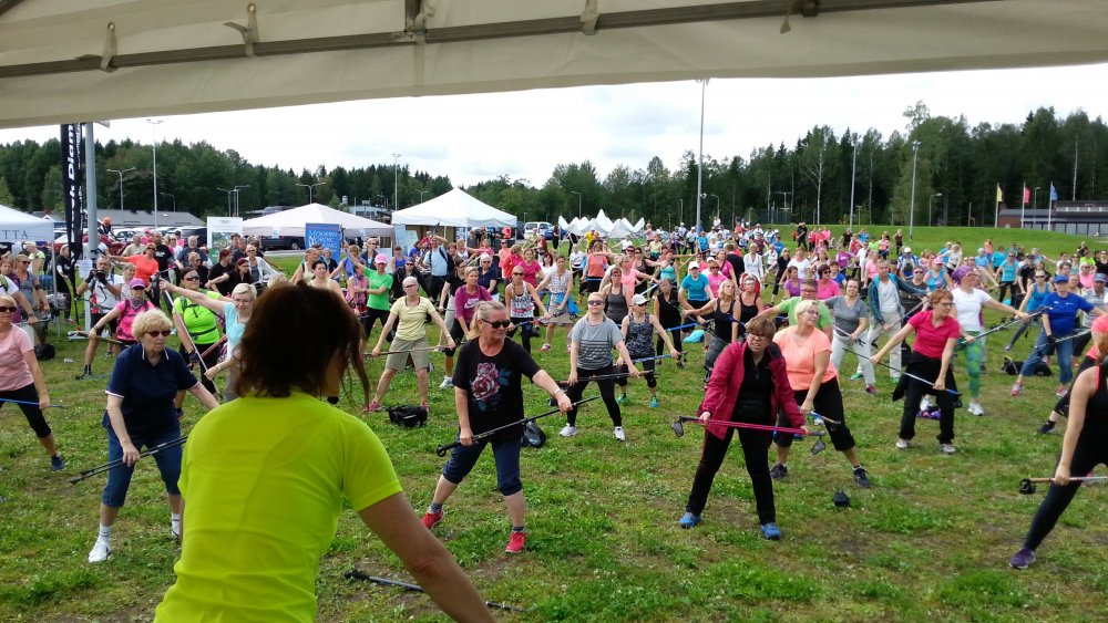 Suomalainen sauvakävely, Nordic Walking 20 vuotta