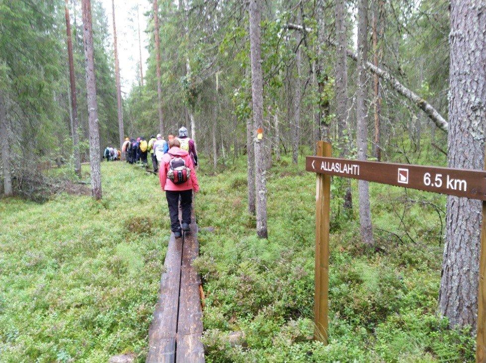Savo-Karjalan kansallispuistoretki