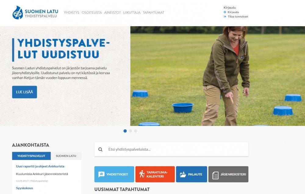 Suomen Ladun sähköiset palvelut yhdistyksille uudistuvat