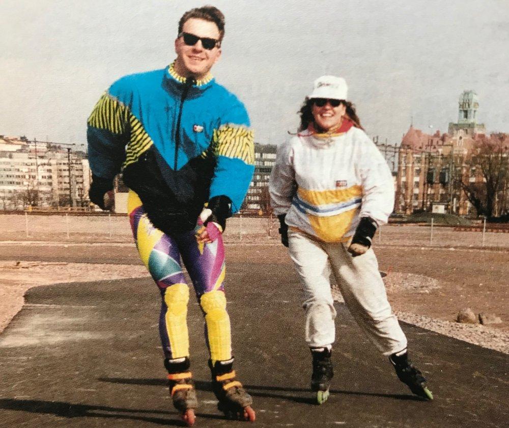 Tuumat ja tuntumat: Latu mukana inline-rullaluistelun käynnistyessä Suomessa vuonna 1992