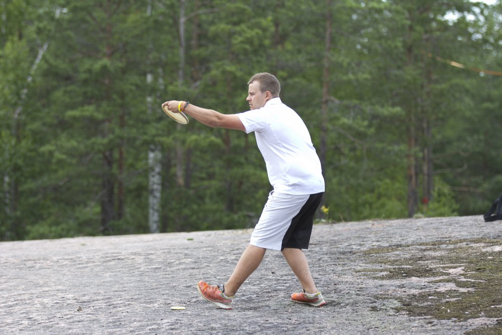 Tukea frisbeegolfradan perustamiseen
