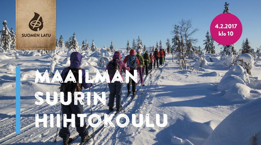 Maailman suurin hiihtokoulu 4.2.2017