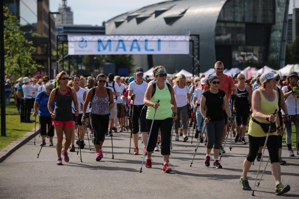 Nordic Walk Finland 7.8.2016