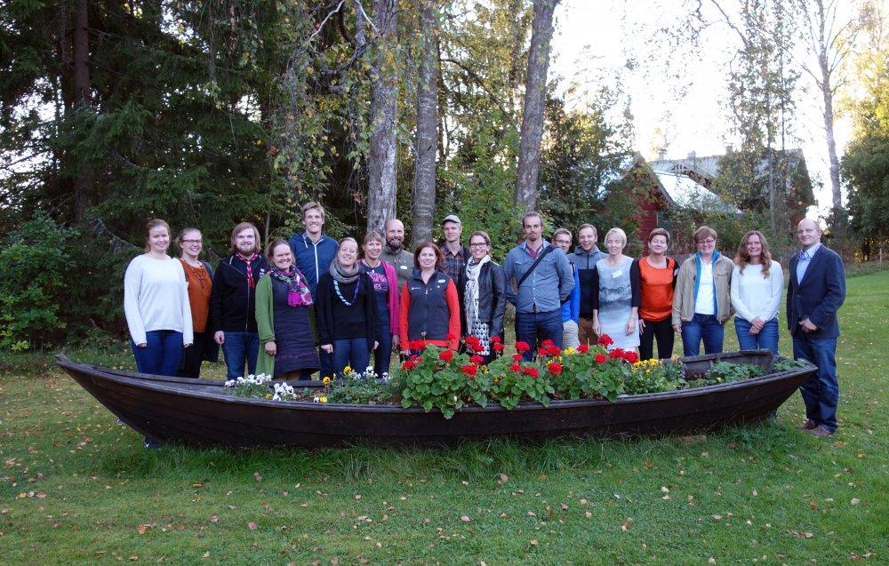 Pohjoismaiset ulkoilujärjestöt koolla Tuusulassa