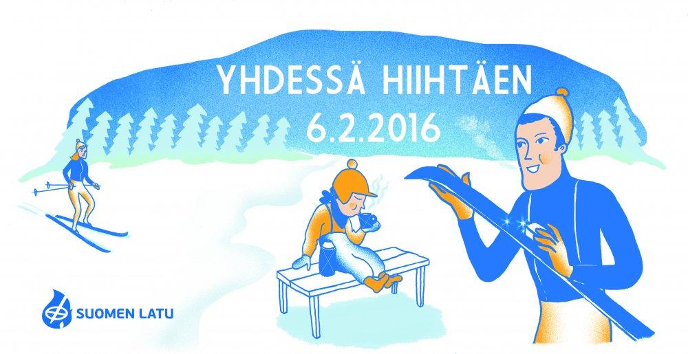 Yhdessä hiihtäen 6.2.2016